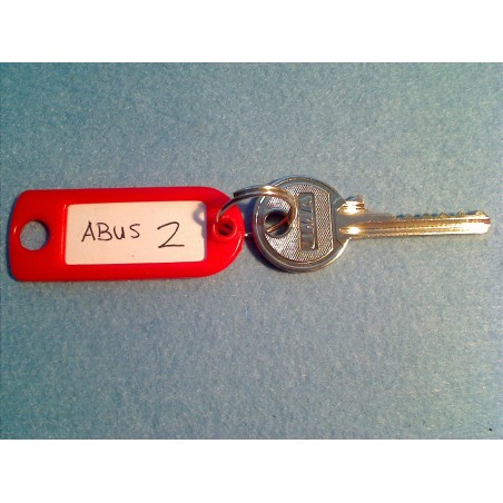 Abus 6 pin bump key