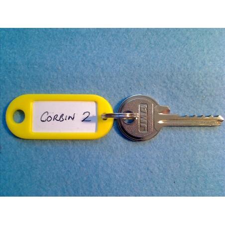 Corbin 5 pin bump key