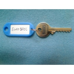 Eurospec 5 pin bump key, E*S