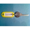 Banham 6 pin bump key