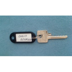 Chavo reversed 5 pin bump key
