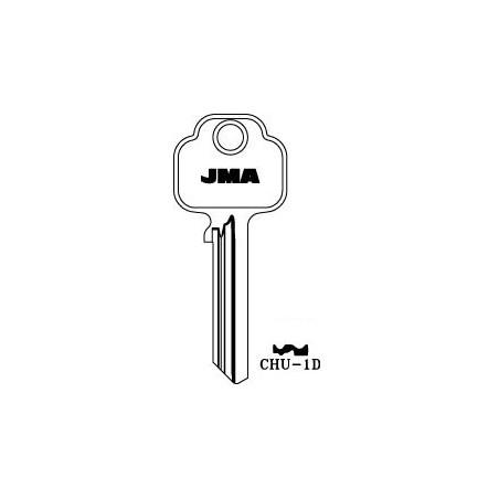 Chubb 6 pin key blank, standard profile