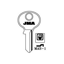 master 4 pin key blank, standard profile