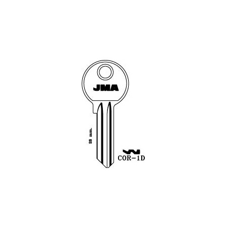 Corbin 5 pin key blank, standard profile