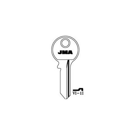 Viro 5 pin key blank, standard profile