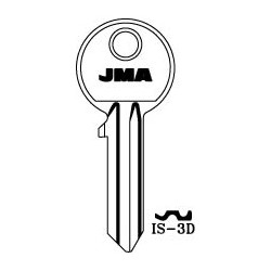 iseo 5 pin key blank, standard profile