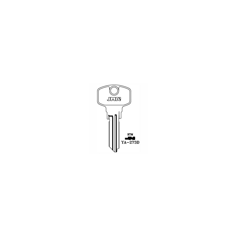 Yale AS 6 pin key blank, standard profile