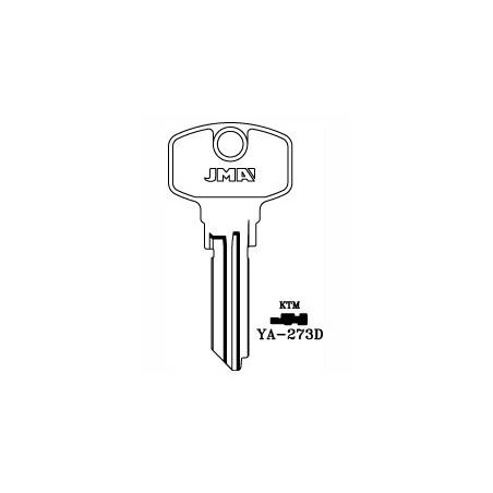 Yale AS, 6 pin key blank, standard profile