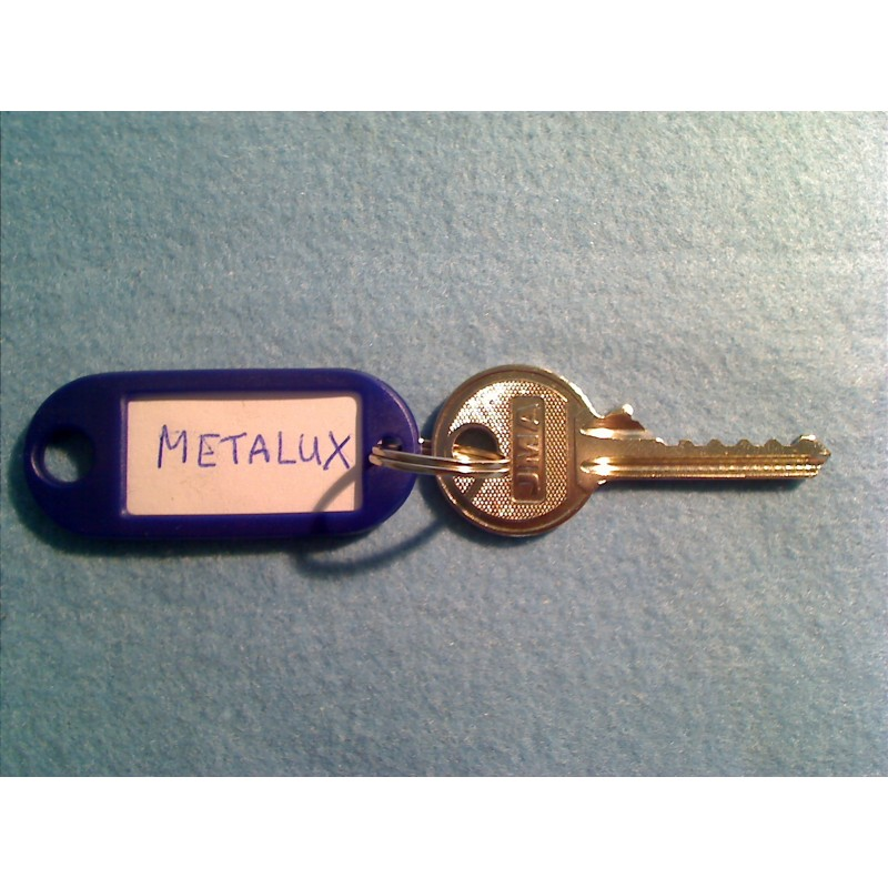 metalux 5 pin bump key