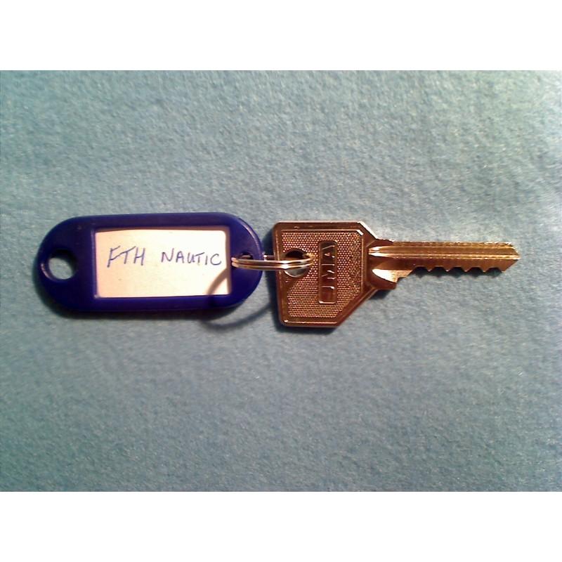 FTH Nautic 5 pin bump key