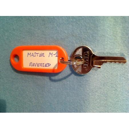 Master padlock, reversed 4 pin M1