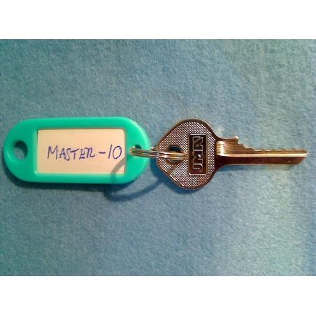 Master padlock, 5 pin M10