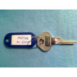 Master padlock, 5 pin M6000
