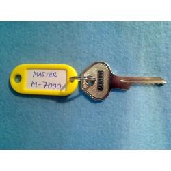 Master padlock, 6 pin M7000