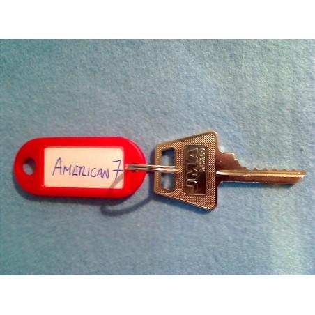 American padlock, 6 pin AM7