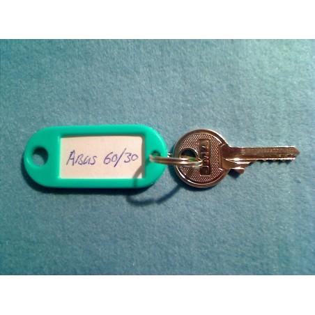 Abus 60/30 bump key, 4 pin