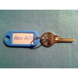 Abus 65/35 bump key, 4 pin