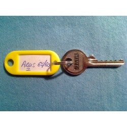 Abus 65/50 and 65/60 old style keyway bump key, 5 pin