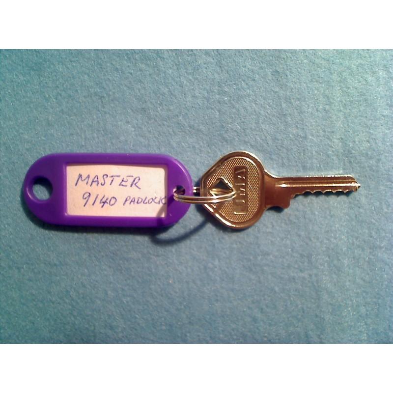 9140 Master padlock, 4 pin