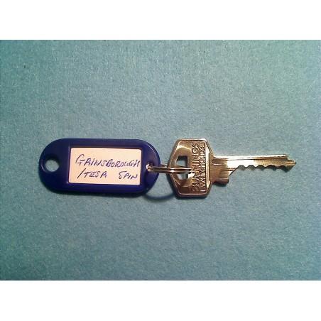 Gainsborough/ Tesa 5 pin bump key