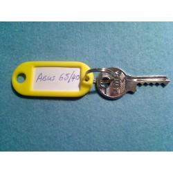 Abus 65/40 new style bump key, 5 pin