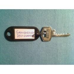 Gainsborough 850 5pin bump key