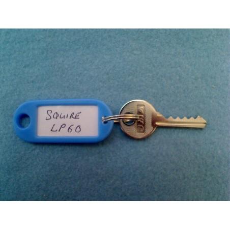 Squire padlock LP60 5 pin bump key