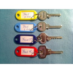 Ultimate Yale bump key set, 4 keys + 5 dampeners
