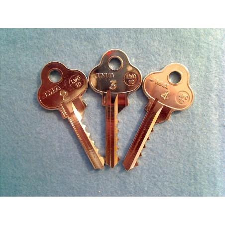 Lockwood 5 pin bump key set