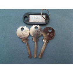 LSH 6 pin bump key set