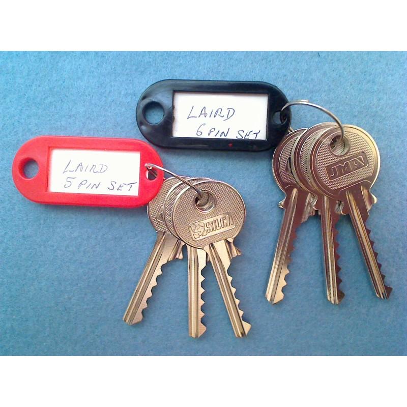 LSH 5 and 6 pin bump key set