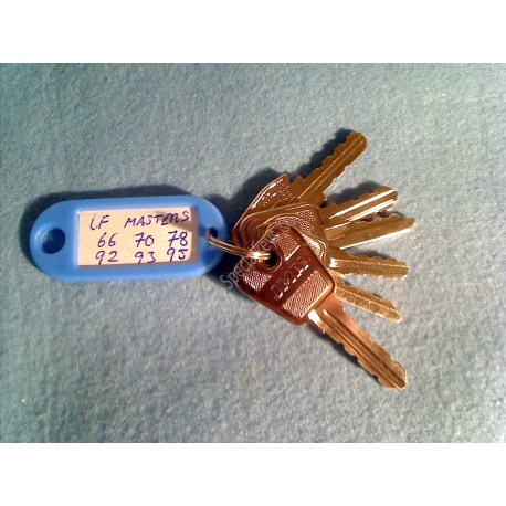 L&F Popular Master Key Set
