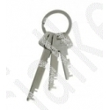 Lowe & Fletcher Flat Steel Master Keys Set