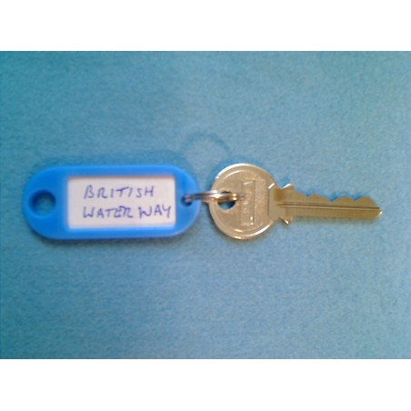 British Waterways padlock master key