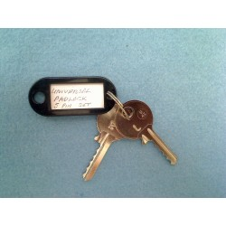 Universal padlock bump key set (LOW) 1st cut 5 pin