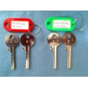 universal 6 pin bump keys (4 keys)