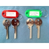Both sets of 6 pin universal bump keys (4 keys)