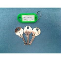 Universal 5 pin bump key set (3 x right keys)