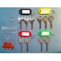 Ultimate universal bump key set, 10 keys + 5 dampeners