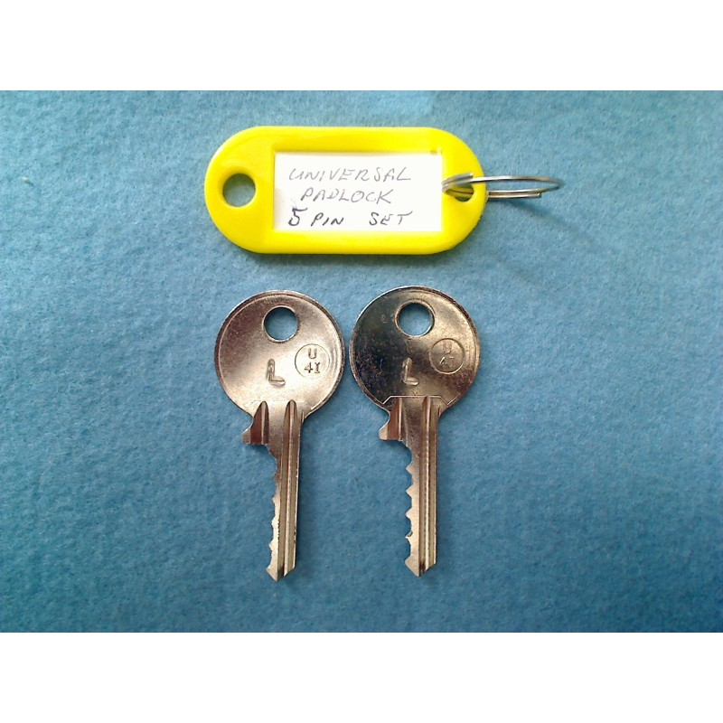 Universal padlock RIGHT MEDIUM set