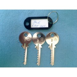 Yale 6 pin bump key set