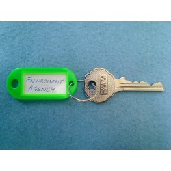 Enviroment Agency cylinder master key