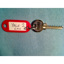Yale 6 pin bump key