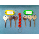 Full 6 pin universal bump key set (6 keys)
