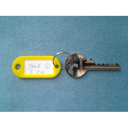 Yale, 5 pin bump key