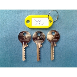 Yale 5 pin bump key set