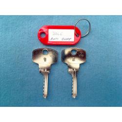 Yale Anti Bump, 6 pin bump key 1&2
