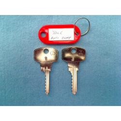 Yale Anti Bump, 6 pin bump key 1&3