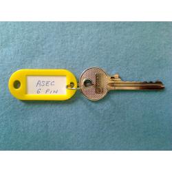 Asec, 5 pin bump key