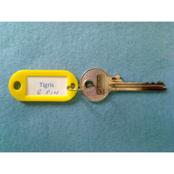 Tigris 6 pin bump key
